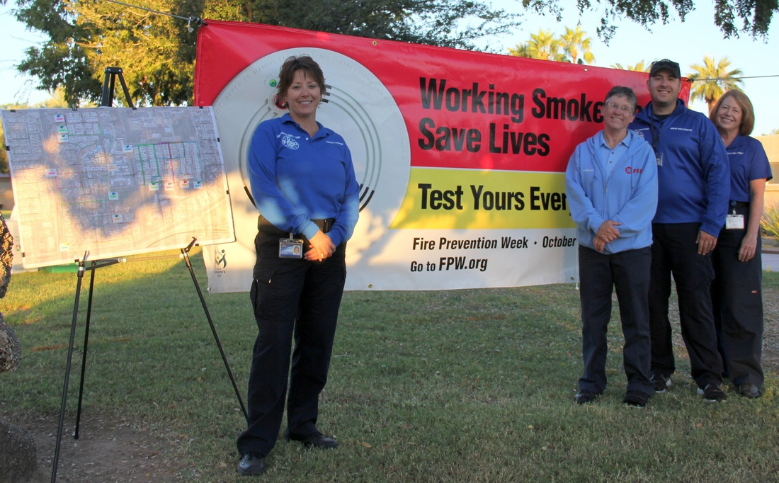 The Recent Photos Of Tanja And Staff At A Smoke Alarm Program Held In Litchfield Park 2014